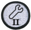 I'm all about the science equipment, Level II badge